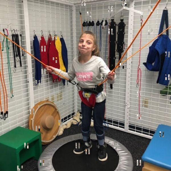 Pediatric Spider Cage Physical Therapy